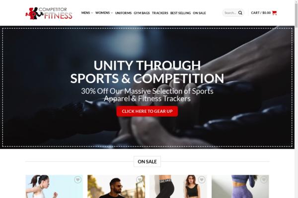 CompetitorFitness.com -  Premium Fitness & Apparel Video Store - $2700 per month + Training