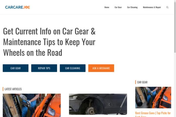 carcarejoe.com - Car Gear & Maintenance Tips to Keep Your Wheels on the Road