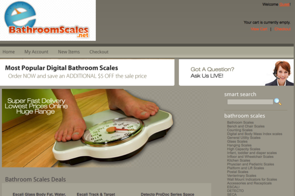 BathroomScales.net - Health & Fitness Store - Easy to Remember & Brand - Easy to Operate