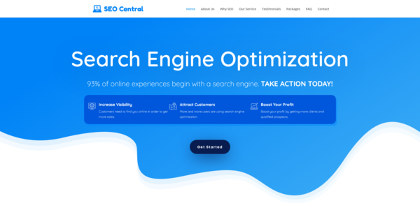 SEOCentral.biz - PROFITABLE SEO BIZ - Made $2100 in 3 Months. Recession Proof Business