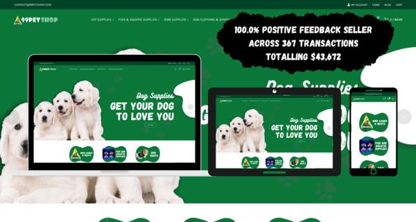 99PetShop.com - PET SUPPLIES Dropship STORE. HIGH PROFIT MARGIN. USA & International Market