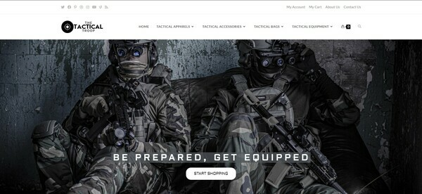 TheTacticalTroop.com - Premium TACTICAL Store, Easy to Operate, 100% DROPSHIP from USA - HUGE BIN BONUS