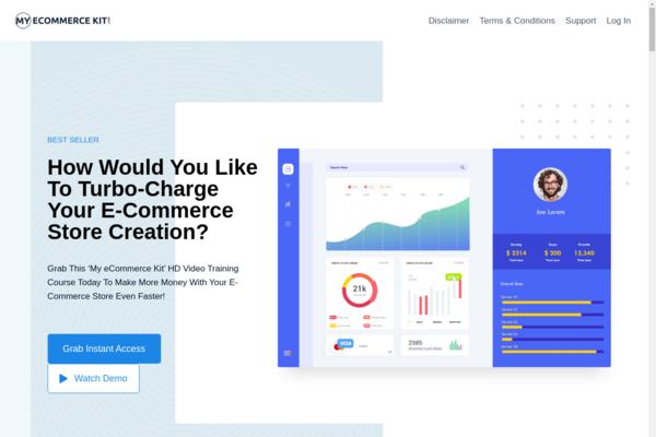 MyEcommerceKit.com - eCommerce Marketing Course| 20 Premium HD Videos Recorded in 2020 | Zero Costt