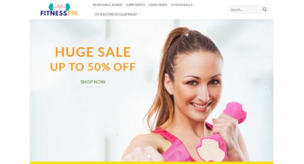 fitnesspik.com - Fitness Equipment eCommerce store - $319 startup Revenue,[$5000/mo Potential