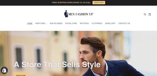 Men Fashion Up - Men Fashion Dropship Store-Pro Design-Lucrative Niche-Private Instagram Marketing Method-$1.5KBINBonus-Anybody can Do From Anywhere