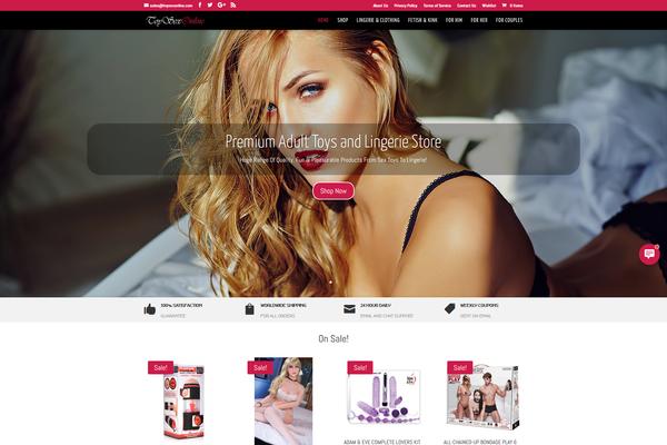 ToySexOnline.com - Sex Toys $ Lingerie Store - Short Domain - US Supplier - Unlimited Potential