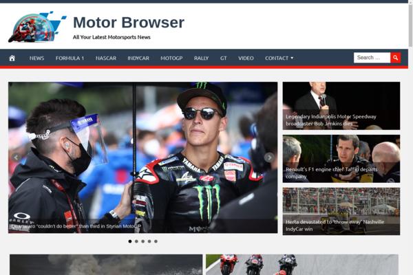 MotorBrowser.com - Fully Automated Motorsports Website - 1 Year Free Hosting BIN + Great Bonuses
