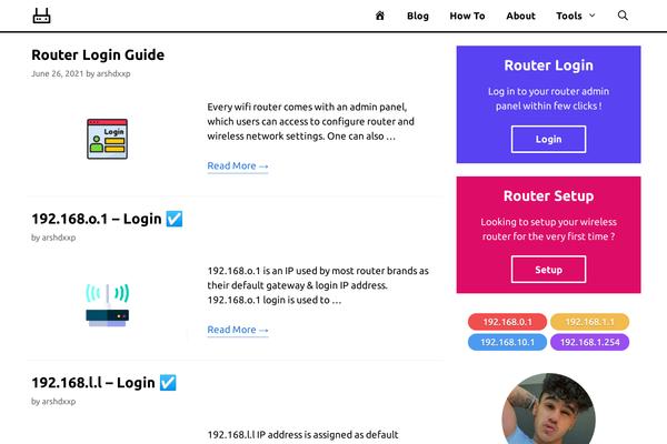 routerhax.com - Routers Adsense & Affiliate Website