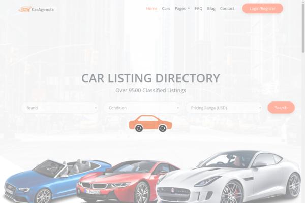 caragencia.com - CarAgencia - Car Listing Directory with Subscription System