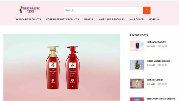 bestbeautytips.org - Amazon Affiliate Site Based on Beauty Products.