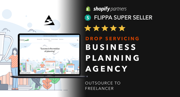 PlanYourStrategy.com - Password: 1234 | Drop-Servicing Business Services Shopify Store For Sale