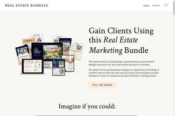 realestatebundles.com - Real Estate Marketing Bundle