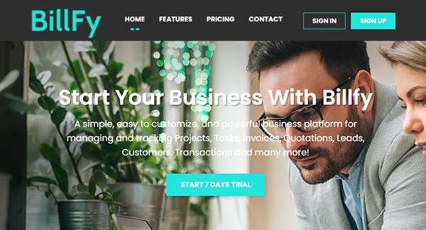 billfy.net - SaaS Business Management System | Billfy