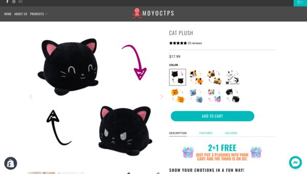 mdyoctps.com - Profitable Dropshipping site $20K USD revenue, $1500PM profit, Reliable supplier