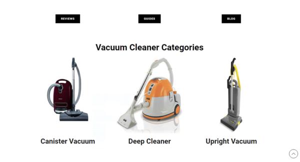 vacuumcleanerkit.com - Vacuum Cleaner Affiliate Website | 10k plus organic visitors | Catchy domain