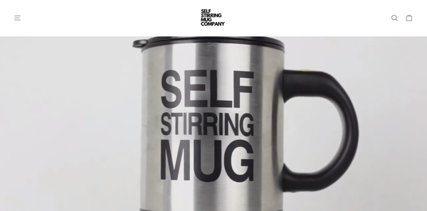 selfstirringmug - Shopify Branded One Product Store. Design Built By A Team Of Professional Web Designers. Everything Is Done For You, The Store Is Launch Ready.