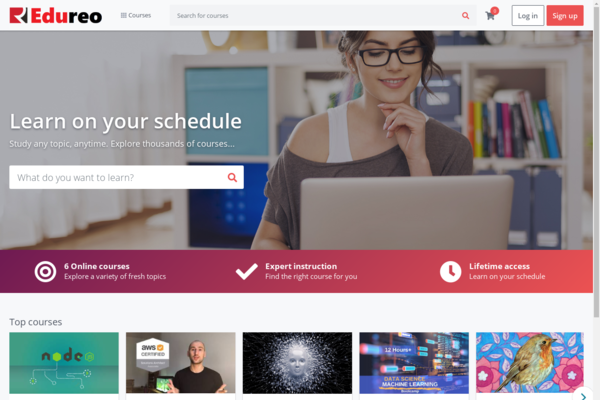 Edureo.com - Powerful online learning platform with instructors, Online courses site for sell