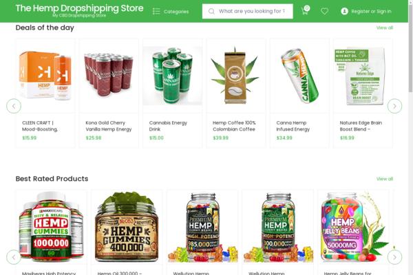 cbdoilsg.com - Starter Amazon Affiliate Site For Sale on Evergreen Cannabis/Hemp products Niche