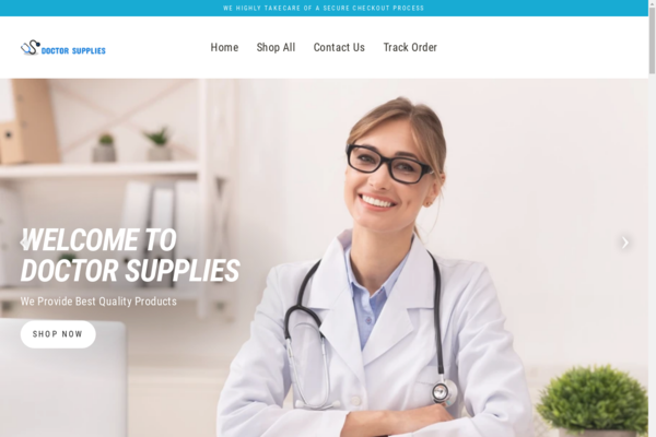 doctorsupplies.net - Fully AUTOMATED High value Medical Business with a PREMIUM DOMAIN NAME.