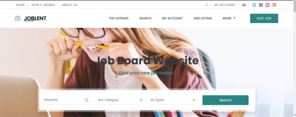 joblent.com - Job Board Job Portal website