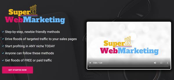 SuperWebMarketing.com - Digital Marketing Training Course Store, Digital Product, Wordpress/WooCommerce, Premium Domain With Huge Potential