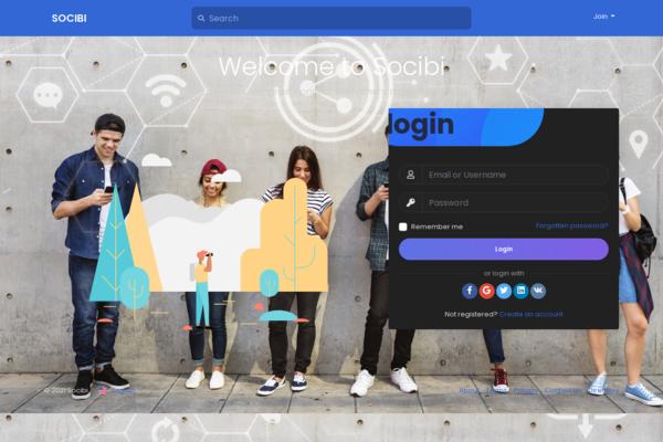 socibi.com - Socibi.com - Ultimate features riched social network platform