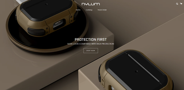 nylumcase.com - Starter Air Pod Case Website For Sale With High Profit Margin
