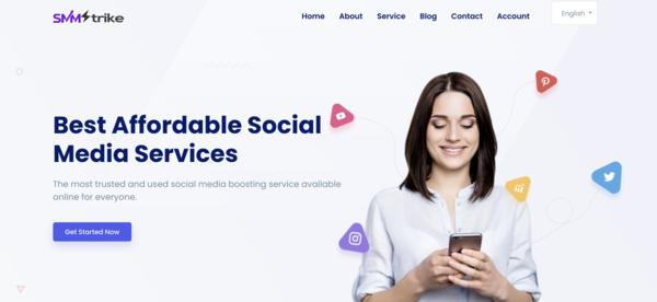 smmstrike.com - SMMstrike.com - Social Media Service Reseller | Profitable Niche | Automated Biz