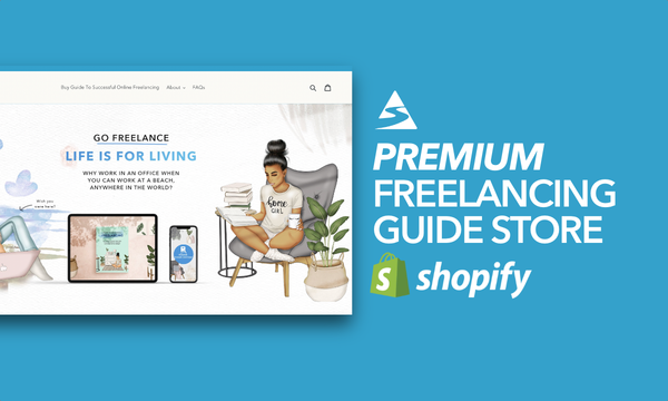FreelancingGuides.com - Password: 1234 | Freelance Ebook Shopify Store For Sale Startup Streams