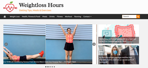 WeightlossHours.com - Fully Automated Weight Loss Website - 1 Year Free Hosting BIN + Great Bonuses