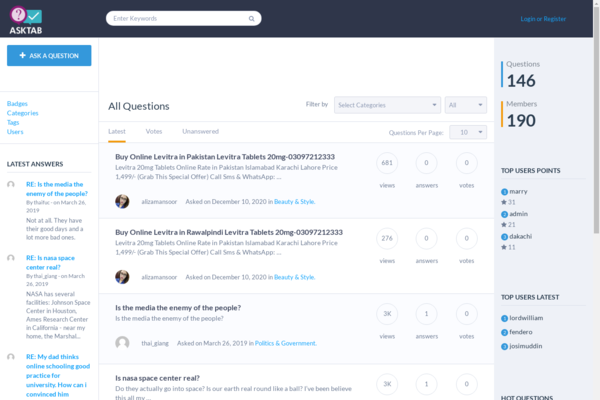 AskTab.com - AskTab.com: Questions, Answers, Ask, Tab, Ask Anything, Get Answers