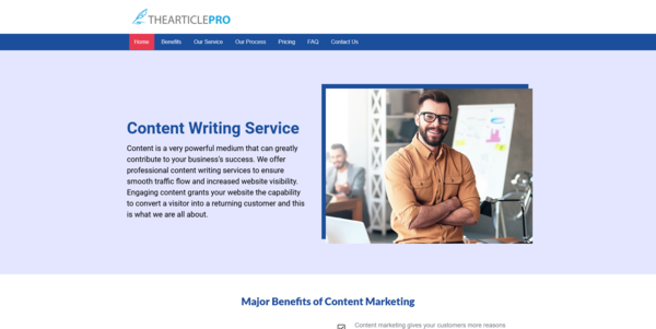TheArticlePro.co - PROFITABLE ARTICLE WRITING BIZ - Made $1925 in 3 Months. Recession Proof Biz
