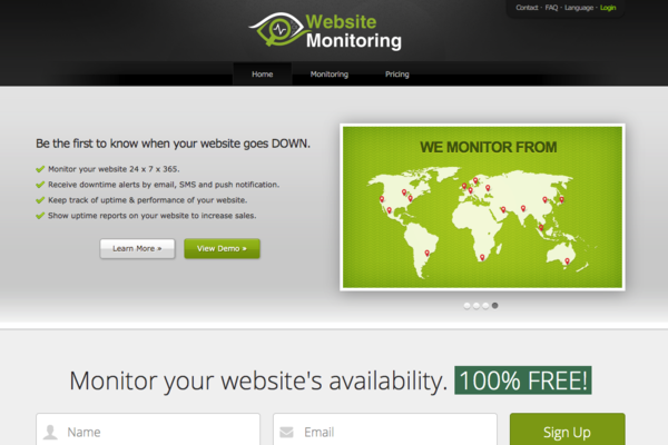 WebsiteMonitoring.org - Make Month-After-Month Passive Cash Flow with this Digital Property