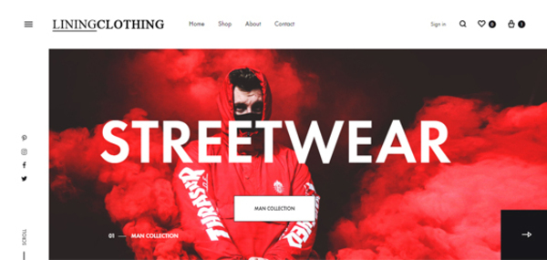 liningclothing.com - Liningclothing.com PREMIUM Store with Exceptional Growth Potential.
