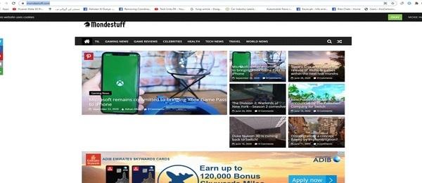 mondestuff.com - Advertising / General Knowledge