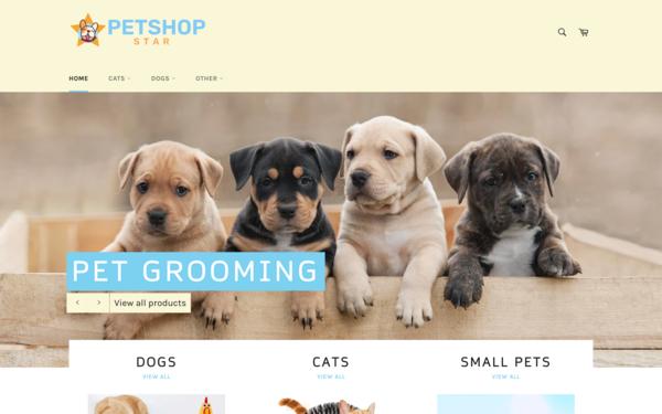 PetShopStar.com - PetShopStar.com - Dropshipping Pet Store | Premium Brandable Name Worth $1,416