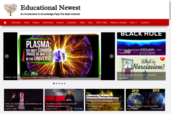 EducationNewest.com - Educational Website - Fully Automated - Ad Income - BIN Bonus