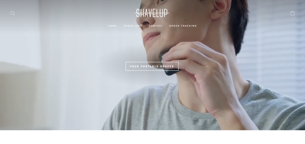 shavelup.com - Portable Electric Shaver   Branded Automated One Product Store   4-13 Shipping