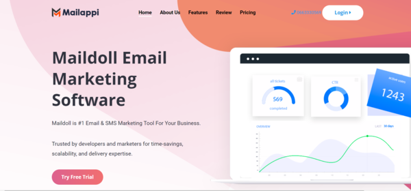 Mailappi - Email & SMS Marketing SaaS Application - Mailappi is an Email & SMS Marketing app for any kind of business marketing purpose Mailappi integrates easily PayPal Stripe and it offers tools to create plans