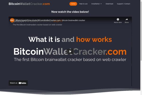 bitcoinwalletcracker.com - BitcoinWalletCracker.com - first Bitcoin brainwallet cracker based on webcrawler
