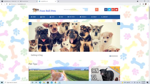 FuzzBallPets.com - High Converting Hot Pet Niche - Premium Design - 100% Fully Automated