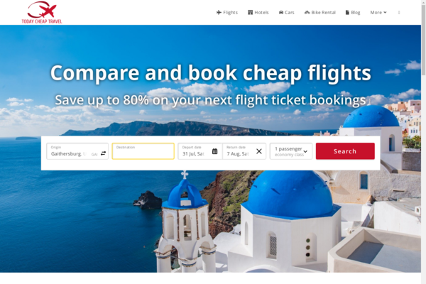 todaycheaptravel.com - Exceptional Domain name, Automated Travel Site, Up To $5k/Month Income Potential