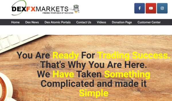 dexfxmarkets.com - SaaS / Business