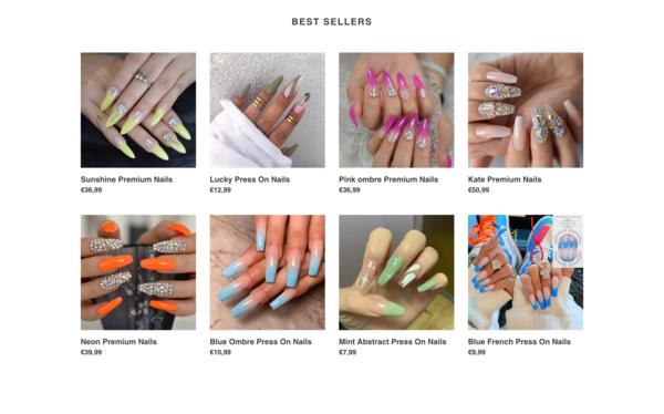 NailsKing.com - NailsKing.com - Gel Nails Store | Domain worth $1,234
