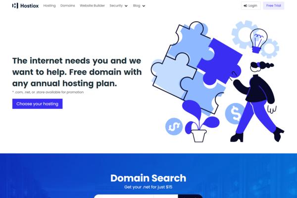 hostiox.com - Best Hosting Starter Site on Flippa: Sell Web Hosting & Domains