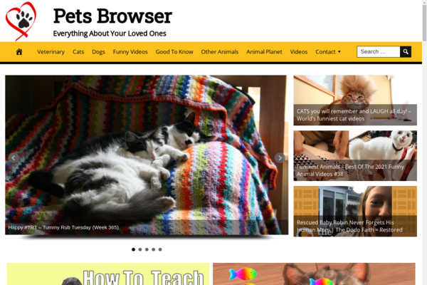 PetsBrowser.com - Premium Automated Pet Niche Website - Add Income - Hosting BIN Bonus