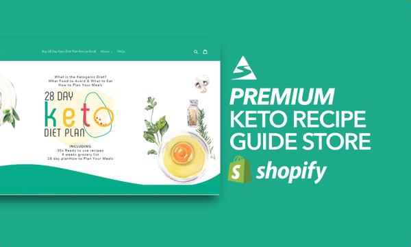KetogenicHero.com - Password:1234 | Keto Diet Ebook Shopify For Sale Startup Streams