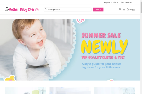 MotherBabyCherish.com - Password : 111,Automated Baby/Kids Dropshipping Business [$5k/mo Potential]