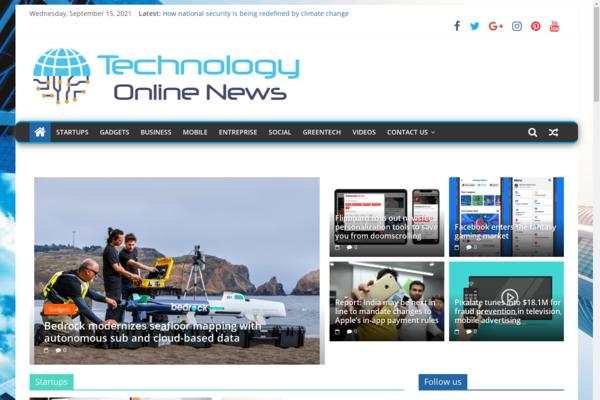 TechnologyOnlineNews.com - Technology News, Premium design, 100% Automated, 1 Extra site for BIN + Bonuses