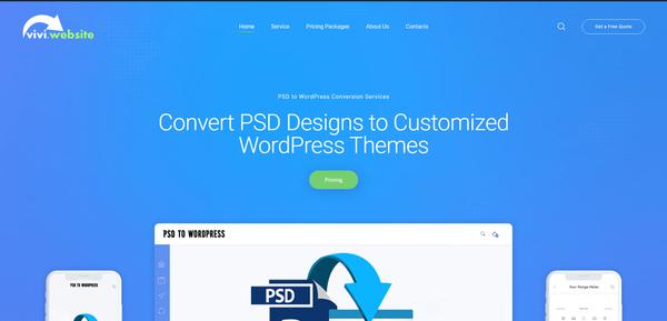 vivi.website - #Monthly Net Profit $800. PSD to WordPress Web Design Business. 100% Outsourced#